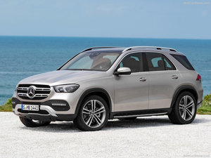 New Mercedes-Benz GLE (the vehicle formerly known as the M