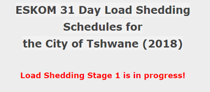 Eskom starts stage 2 load-shedding [30-11-2018] | Page 9