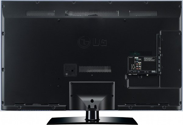 LG Cinema 3D TV LW6510 Rear
