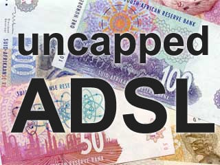 Uncapped ADSL money