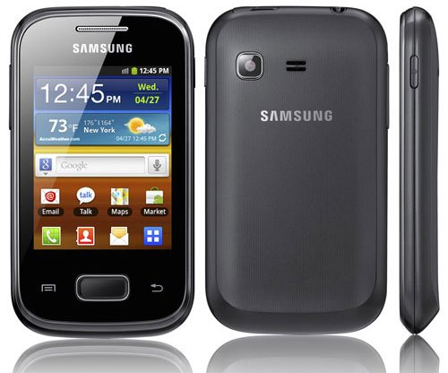 Samsung Galaxy Pocket press shot