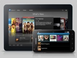 Movies, TV series on-demand in SA from Samsung