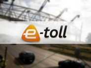 e-Toll logo and gantry