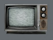 old tv feature grey