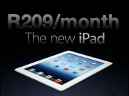 FNB iPad 3 for R205