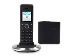 Skype and landline phone launched