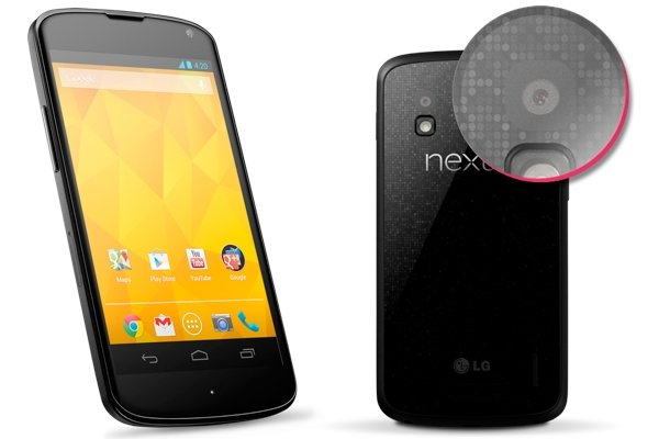 Google Nexus 4 promo shots