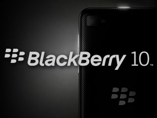 BlackBerry 10 logo phone