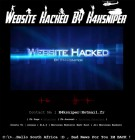 Government population website hacked