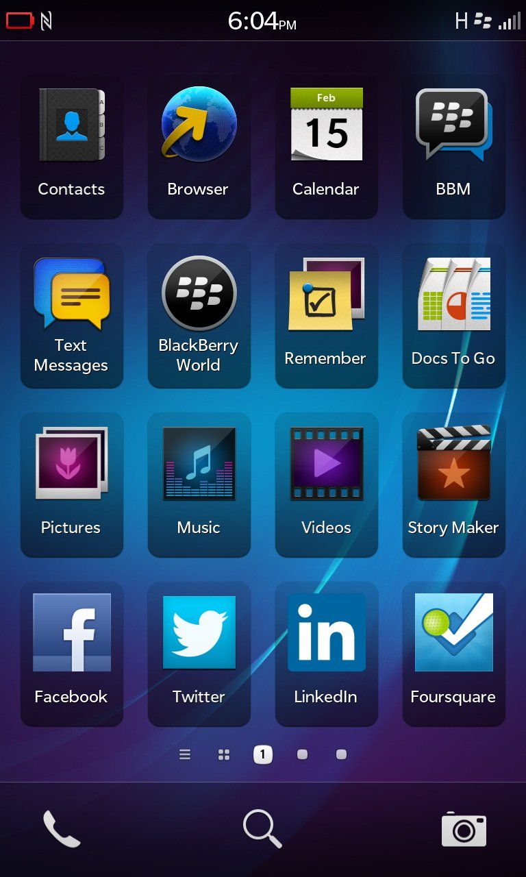 10 Of The Best Books On Italy: BlackBerry Z10: The MyBroadband Review