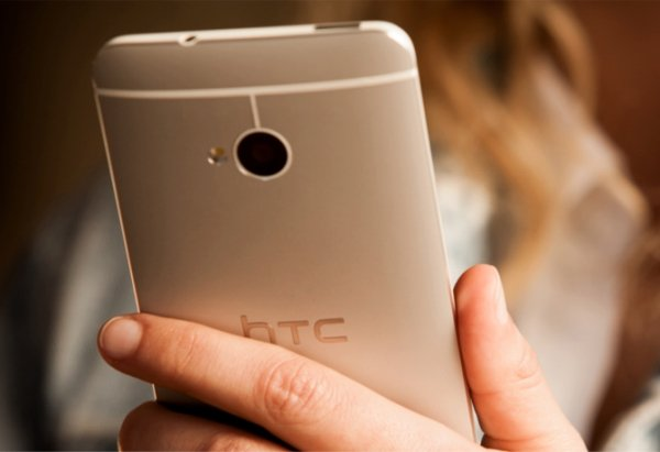 HTC One in hand