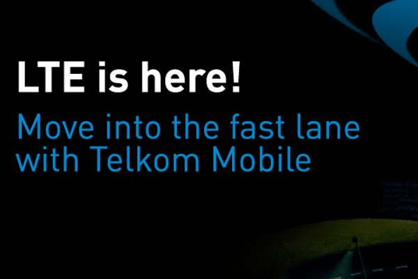 Telkom LTE: 90Mbps peak speeds
