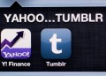 Yahoo and Tumblr icons
