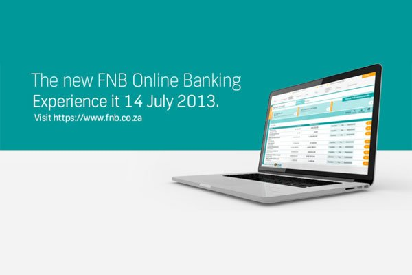 New FNB website