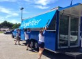 Google Fiber Space on the road - unpacking