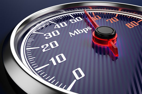 Top 20 broadband speeds in South Africa