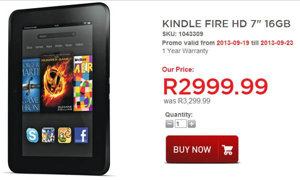 Kindle Fire HD (HiFi Corperation)