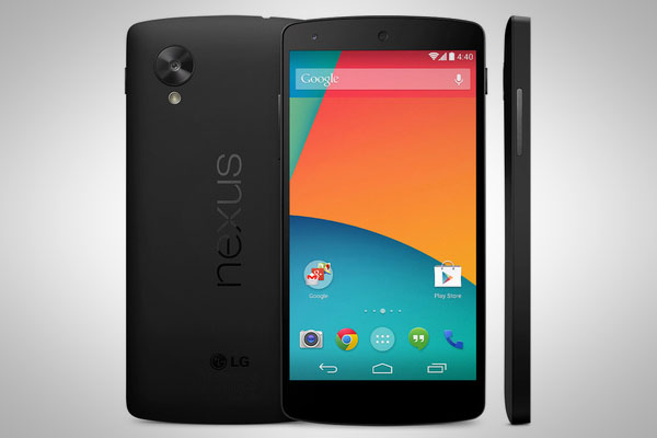 Google Nexus 5 Android smartphone unveiled