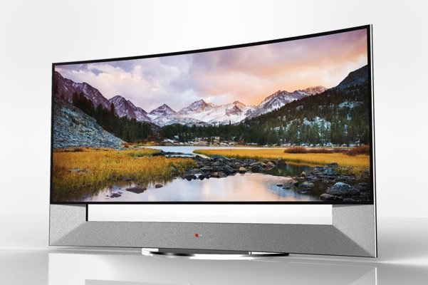 Monster 105-inch curved LED TV from LG