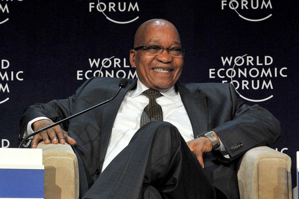 Jacob Zuma and WEF