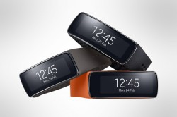 Samsung Gear Fit press shot