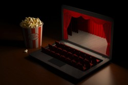 Home theatre video on demand download piracy