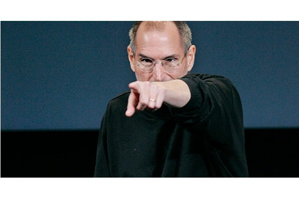 Steve Jobs points