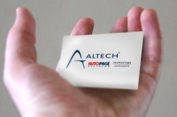 Altech Autopage, Altech Technology Concepts card in hand
