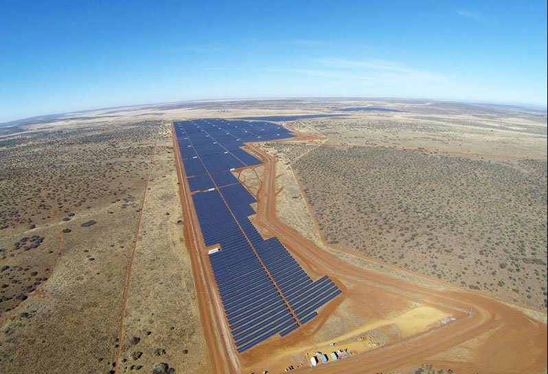 South Africa's impressive solar power plants