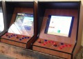 Bar top arcade machine