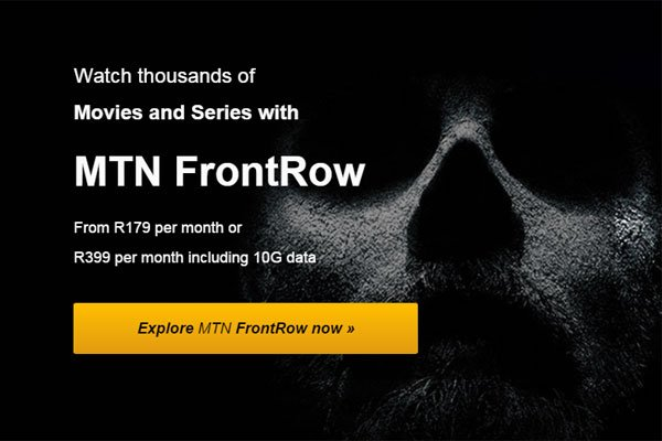 MTN FrontRow service launched at R179 per month