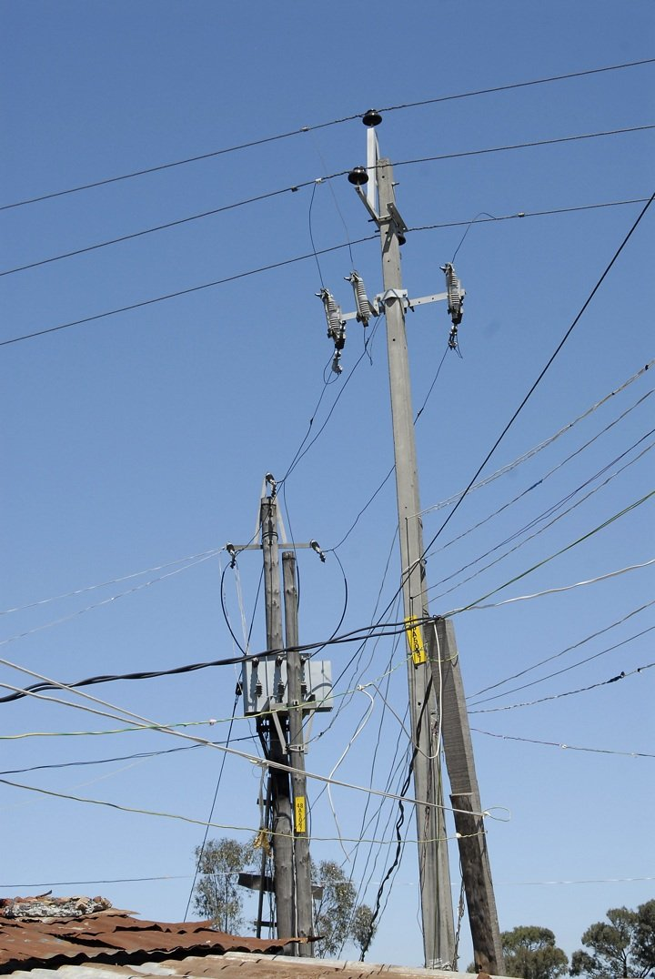 This is how people steal electricity in South Africa