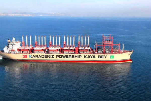 Powerships may solve South Africa's electricity crisis