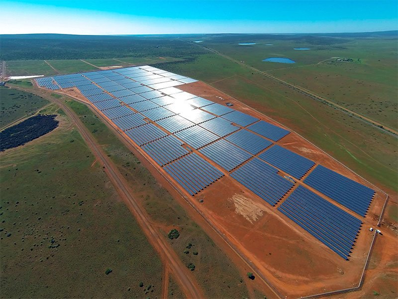 Lesedi solar power plant