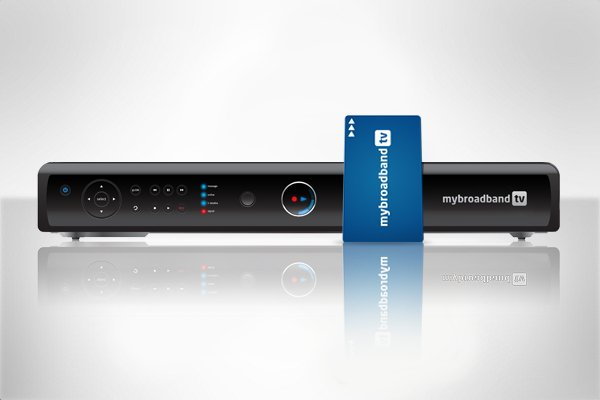 MyBroadband TV decoder with smartcard