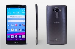LG G4 front, back, and side