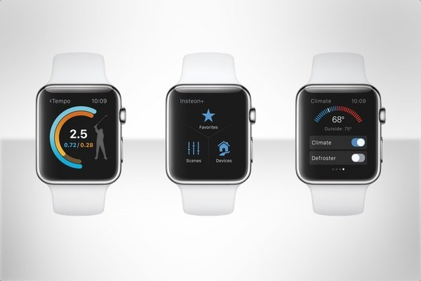 Apple Watch running WatchOS 2