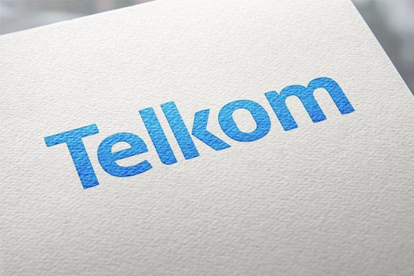Telkom logo on paper