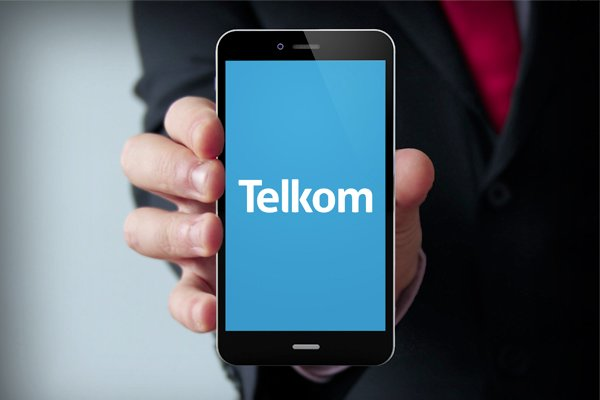 Telkom logo on phone