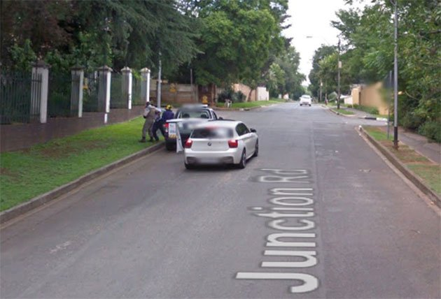 Live Robbery In Johannesburg Caught On Google Street View