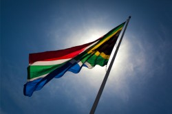 South African Flag Proud