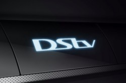 DStv logo on decoder