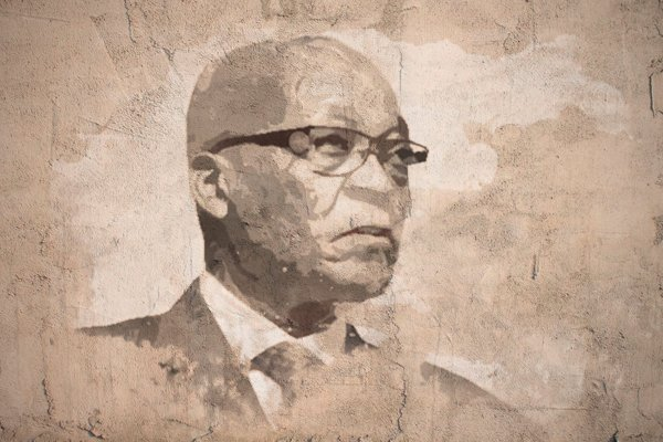 Jacob Zuma head on wall