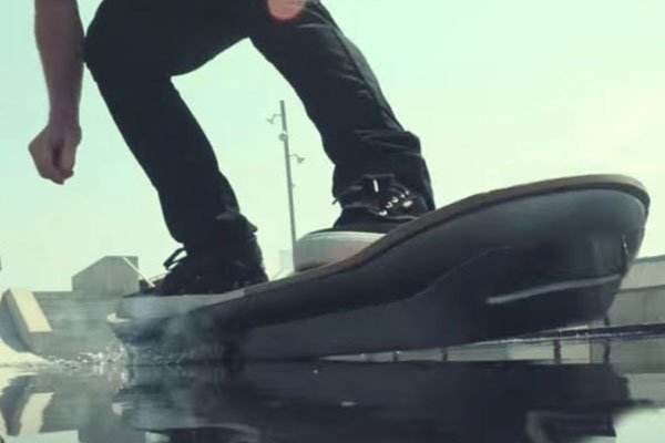 Watch the Lexus hoverboard in action