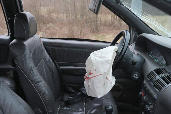 Airbag accident