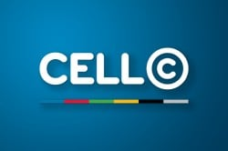 Cell C logo on blue