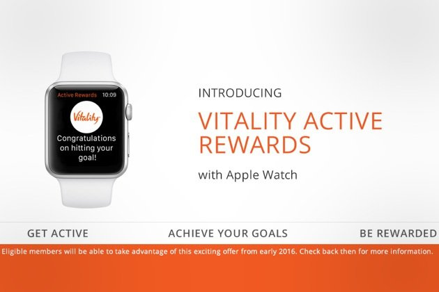 Free Apple Watch on Discovery Vitality