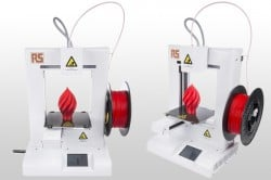 IdeaWerk Pro 3D printer from RS Components
