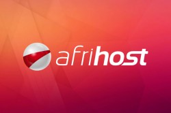 Afrihost logo on background
