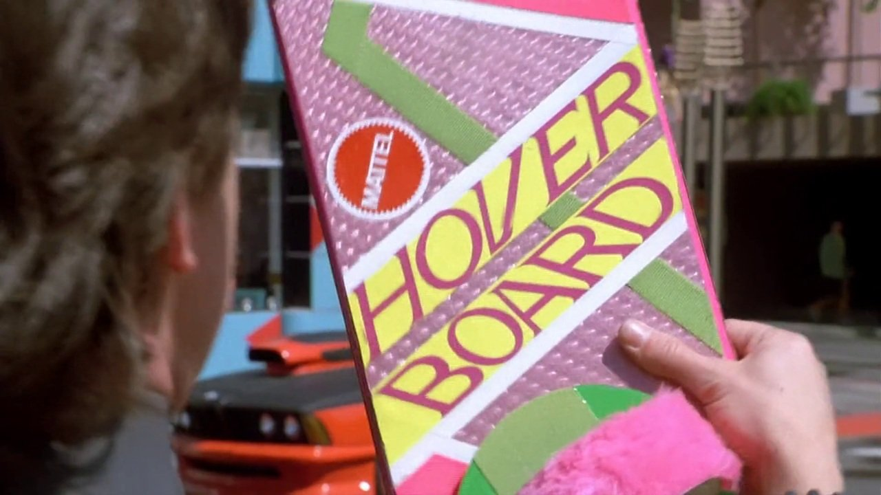 Mattel Hover Board in Back to the Future 2